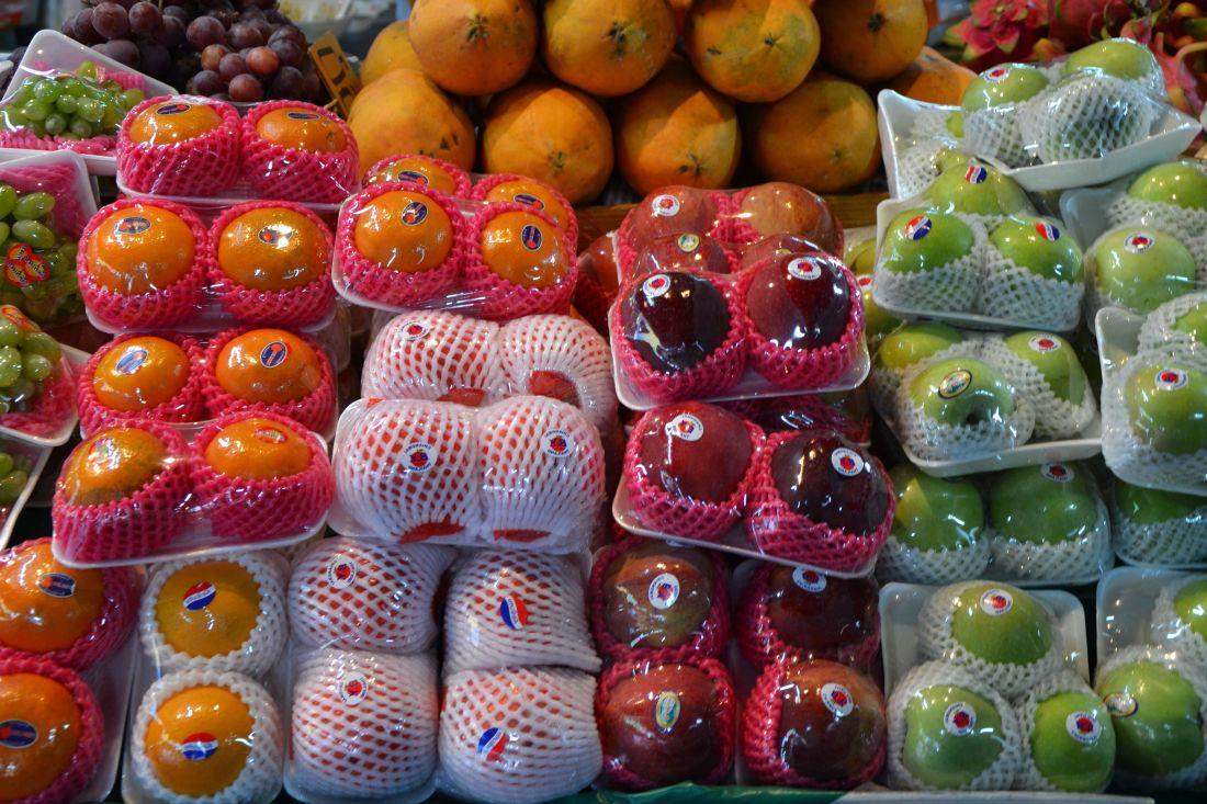 tržištu, hrana, voće, organsko, dijeta