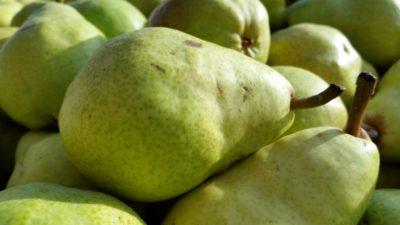 Obst, Lebensmittel, Ernährung, Birne, Makro, Diät, Birne, Natur, Vitamin, süß