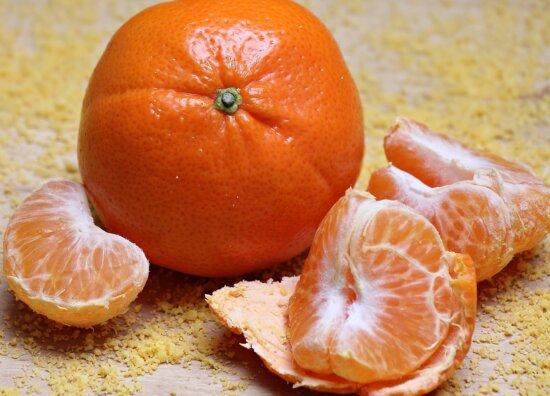 food, fruit, citrus, mandarin, tangerine, vitamin, diet, sweet