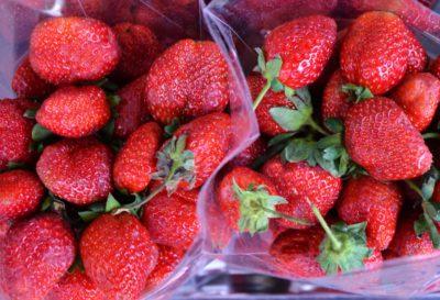 morango, fruta, baga, comida, doce, deliciosa, dieta, nutrição