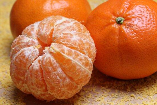 food, fruit, tangerine, citrus, mandarin, vitamin, diet