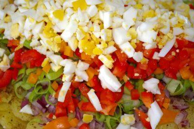 Mittagessen, Abendessen, Essen, lecker, Mahlzeit, Tomate, Gemüse, Salat