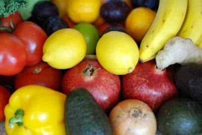 fruit, banana, market, food, apple, lemon, nutrition, citrus, fruits