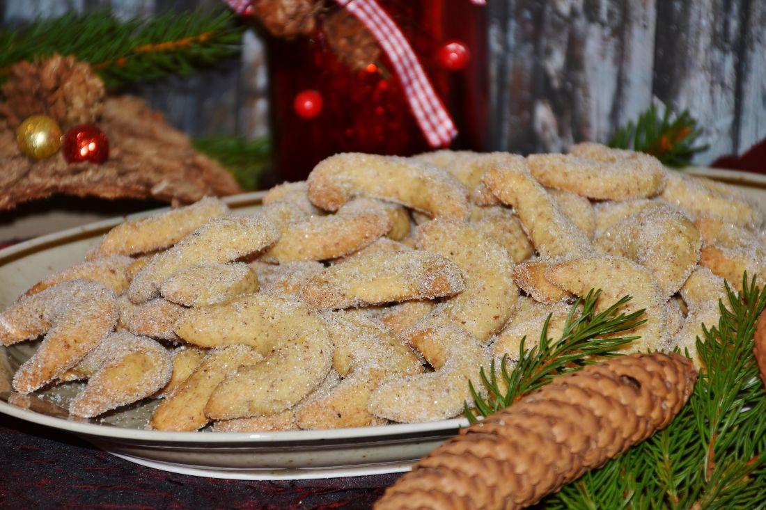 jídlo, cookie, strava, dekorace, jídla, sladké, cukr