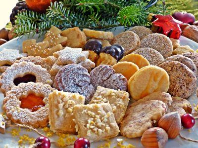 food, meal, vookie, dessert, colorful, sugar, tasty, sweet