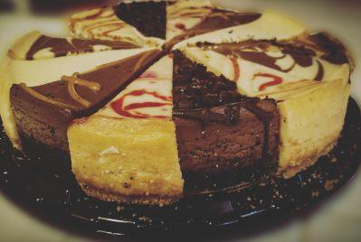 cokelat, manis, gula, lezat, makanan, gelap, krim, kue, kue keju