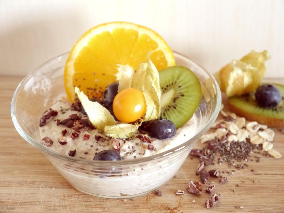 jedlo, ovocie, sladké, Raňajky berry, lahodné, misy, výživa