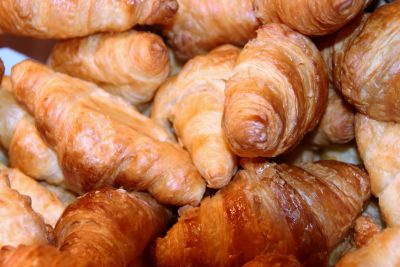 croissant, food, delicious, breakfast, meal