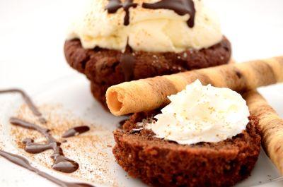 ăn sô cô la, ngon, ngọt, đường, kem, món tráng miệng, bánh
