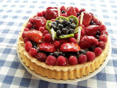 Sweet, fraise, berry, délicieux, aliments, fruits, dessert, framboise