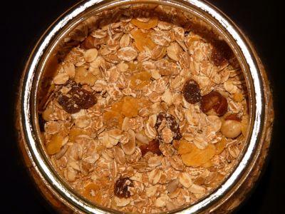 muesli, tazón de fuente, alimentos, comida, nutrición, plato delicioso, cereal, desayuno