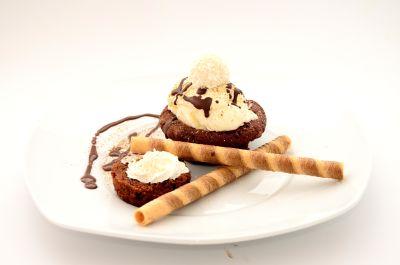 chocolate, cream, sweet, delicious, food, sugar, meal, dessert