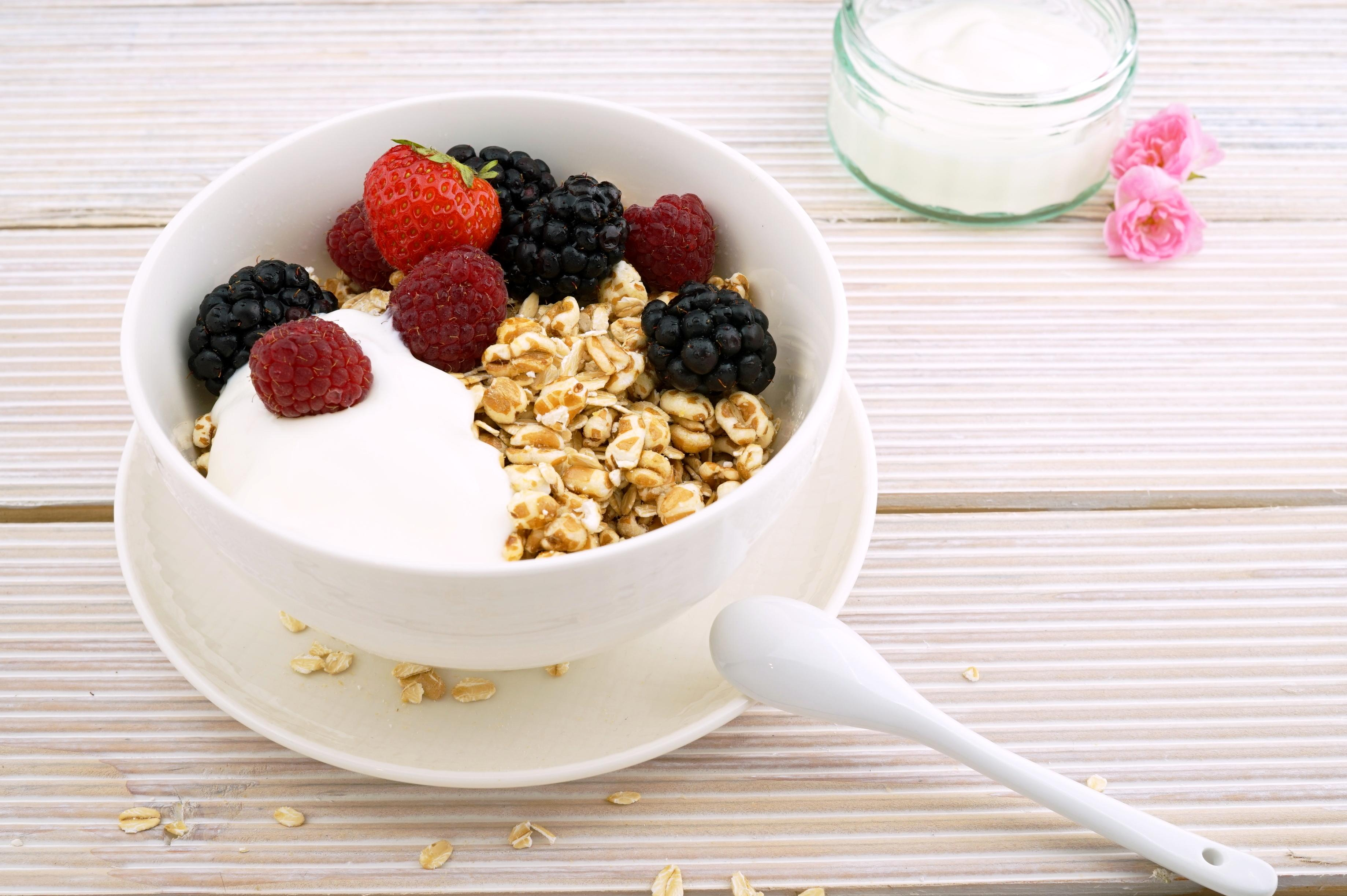 Free Picture Breakfast Muesli Diet Food Bowl Yogurt