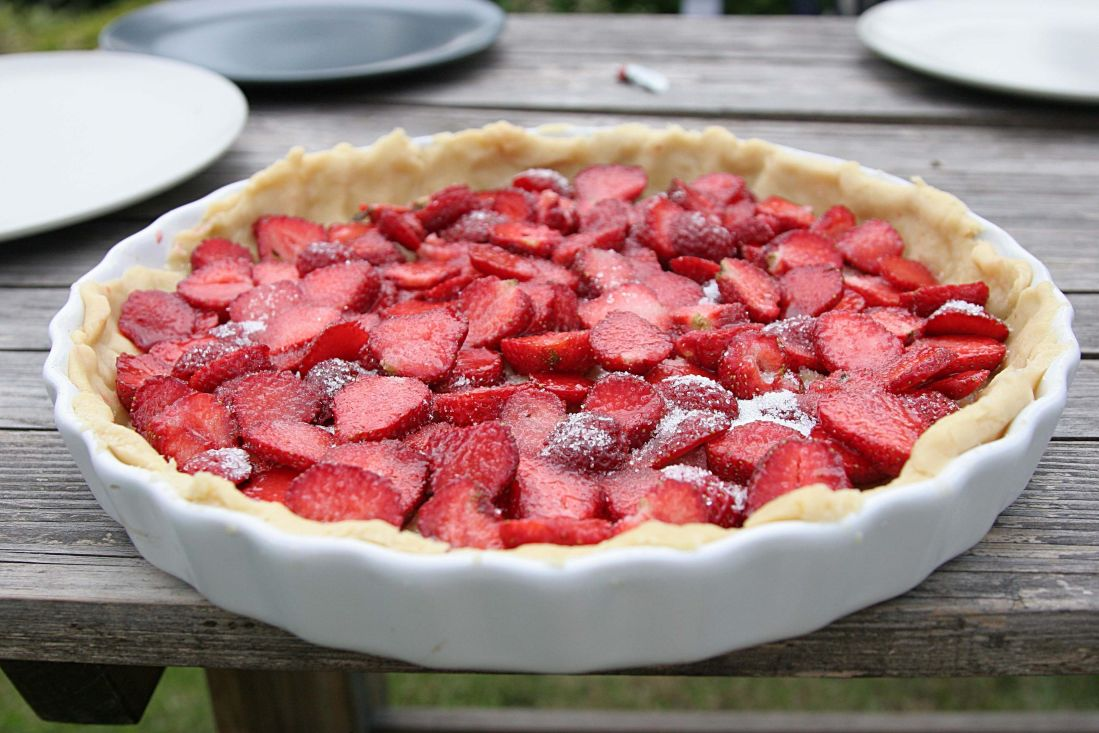 food, sweet, fruit, berry, strawberry, delicious, dessert, rampart