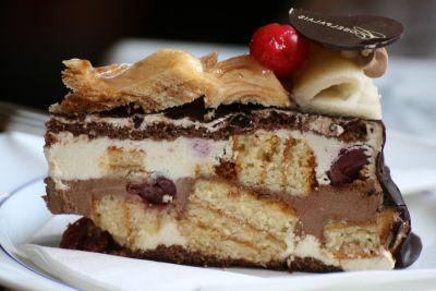 шоколад, торта, сладки, вкусни, сметана, захар, пай, храна, домашно приготвени