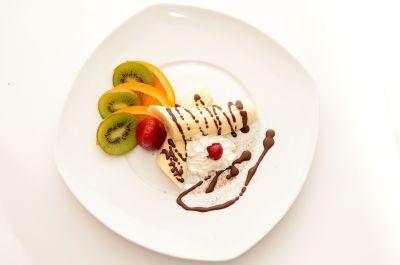 jedzenie, smaczne, słodkie, owocowe, posiłek, lunch, kolację, dieta