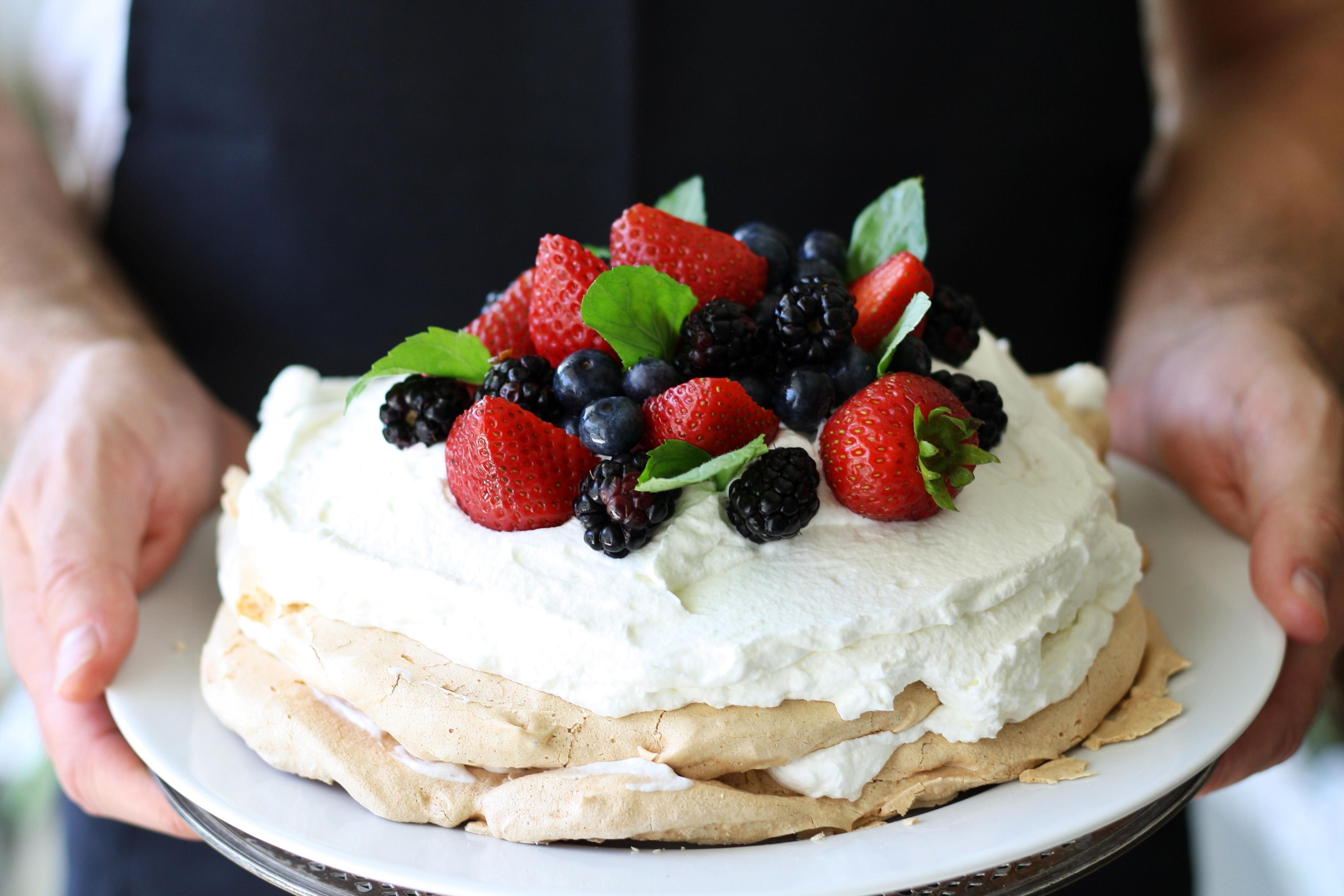 Free Picture Delicious Sweet Cream Food Cake Dessert