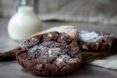 chokolade, mad, lækker, sukker, sød, kage, hjemmebagte, morgenmad