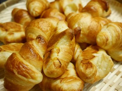 croissant, breakfast, delicious, food, sweet, meal