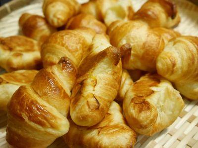 κρουασάν, πρωινό, εύγευστο, φαγητό, γλυκό, το γεύμα
