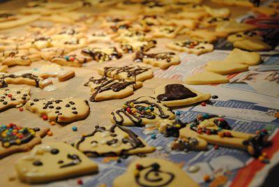 cookie, nourriture, alimentation, sucre, cuisine, créativité, à la main