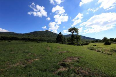 τοπίο, φύση, χόρτο, ουρανός, λόφος, βουνό, ανάχωμα