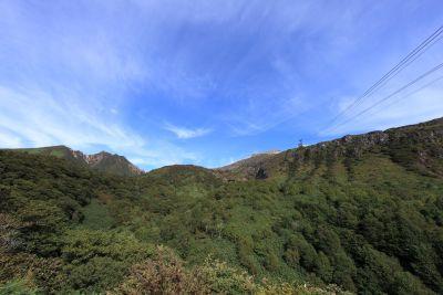 landscape, mountain, nature, sky, hill, tree