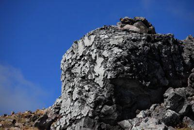paysage, ciel, mégalithes, memorial, structure, montagne, Pierre