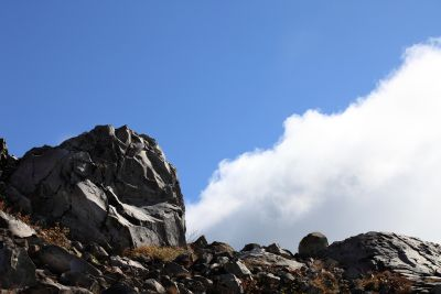 stone, landscape, sky, mountain, nature, cloud, megalith