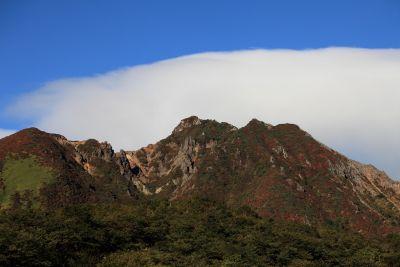 mountain, landscape, sky, blue sky, mountain peak, shadow, valley