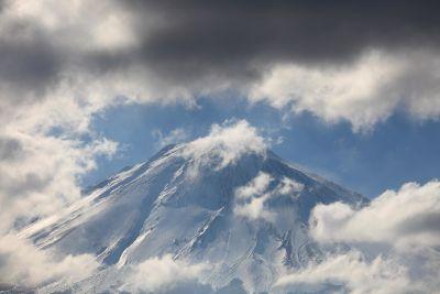 hemel, natuur, sneeuw, berg, landschap, winter, ijs, koude
