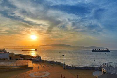 puesta de sol, agua, amanecer, mar, sol, atardecer, playa, mar, playa, Costa