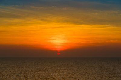 залез, море, плаж, вода, слънце, зората, океан, здрач, морски пейзаж, звезда