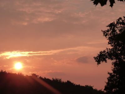 tramonto, alba, sagoma, panorama, sole, retroilluminato, cielo