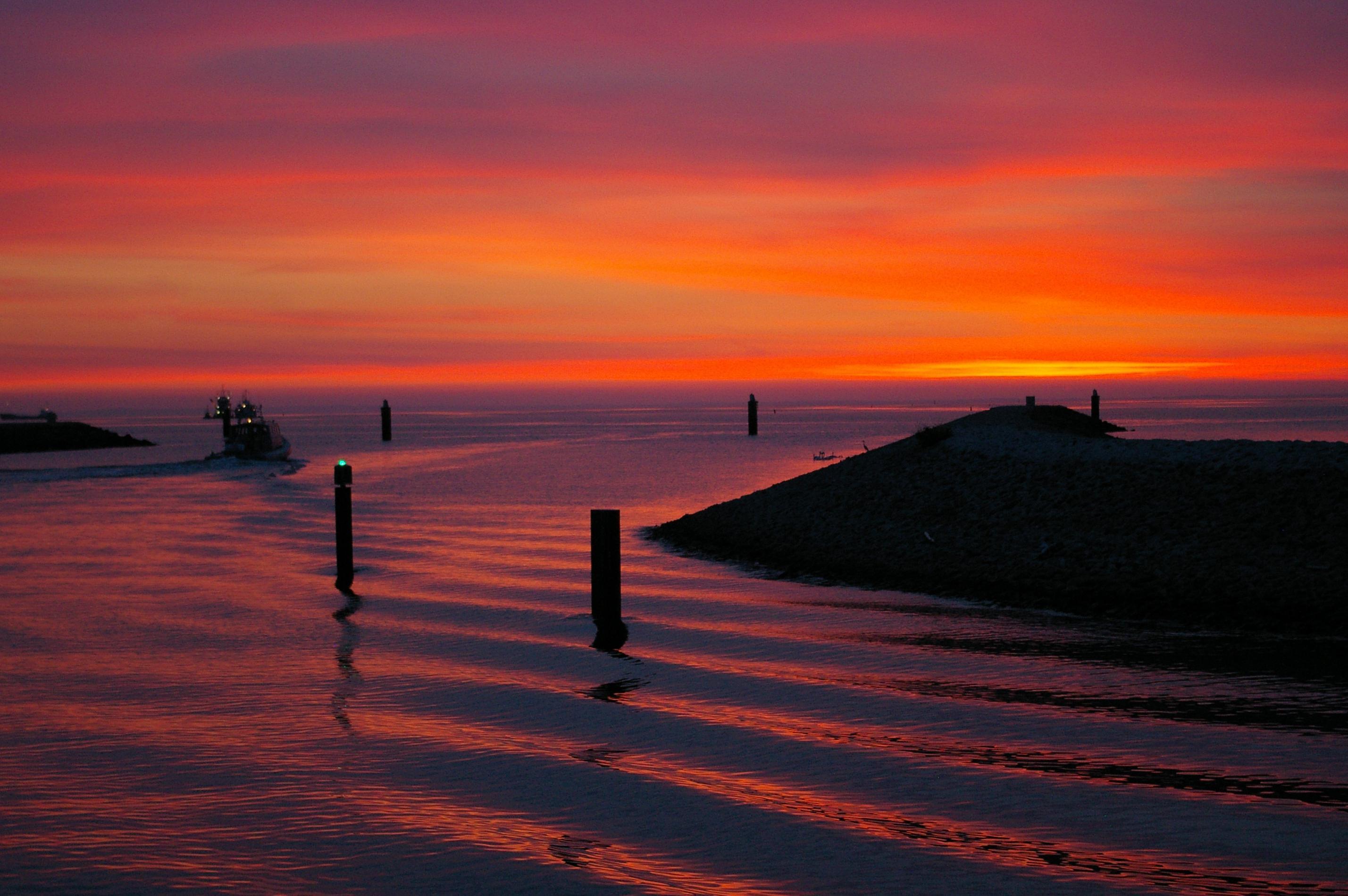 Eccezionale Foto gratis: tramonto, alba, spiaggia, acqua, mare, sole, tramonto  EI02