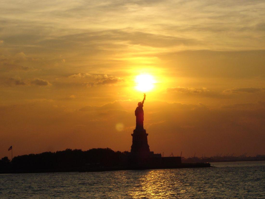 ηλιοβασίλεμα, αυγή, νερό, σούρουπο, ήλιο, ουρανό, αρχιτεκτονική, Πύργος, πόλη