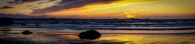 sunset, water, dusk, dawn, sea, ocean, sun, beach, sky, coast