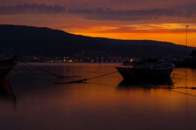 tramonto, acqua, spiaggia, mare, oceano, alba, barca, tramonto, mare, sole