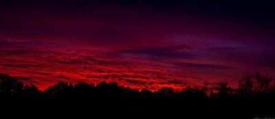 puesta de sol, amanecer, atardecer, cielo, silueta, oscuridad, sol, ambiente, montaña