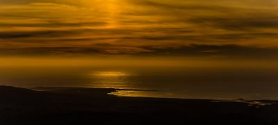 sunset, water, beach, dawn, sea, dusk, sky, sun, ocean, atmosphere