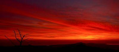 coucher de soleil, aube, crépuscule, ciel, soleil, ambiance, lever du soleil, étoile, nuage