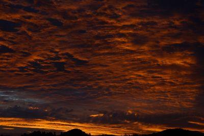 coucher de soleil, aube, crépuscule, ciel, soleil, étoiles, ambiance, lever du soleil, paysage