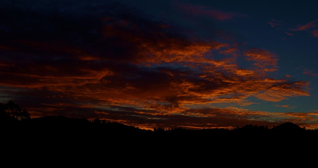 solnedgång, skymning, dawn, himmel, solen, atmosfär, star, landskap, moln