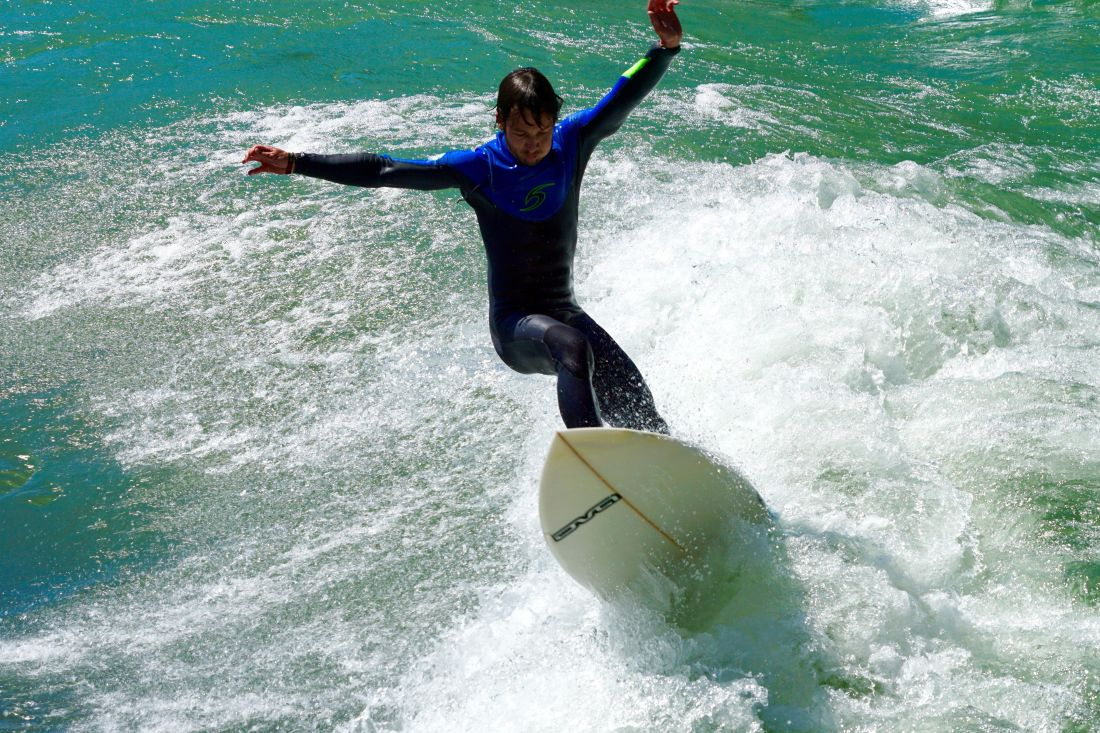 air, laut, pantai, laut, musim panas, sukacita, ekstrim, gelombang, surfer, olahraga