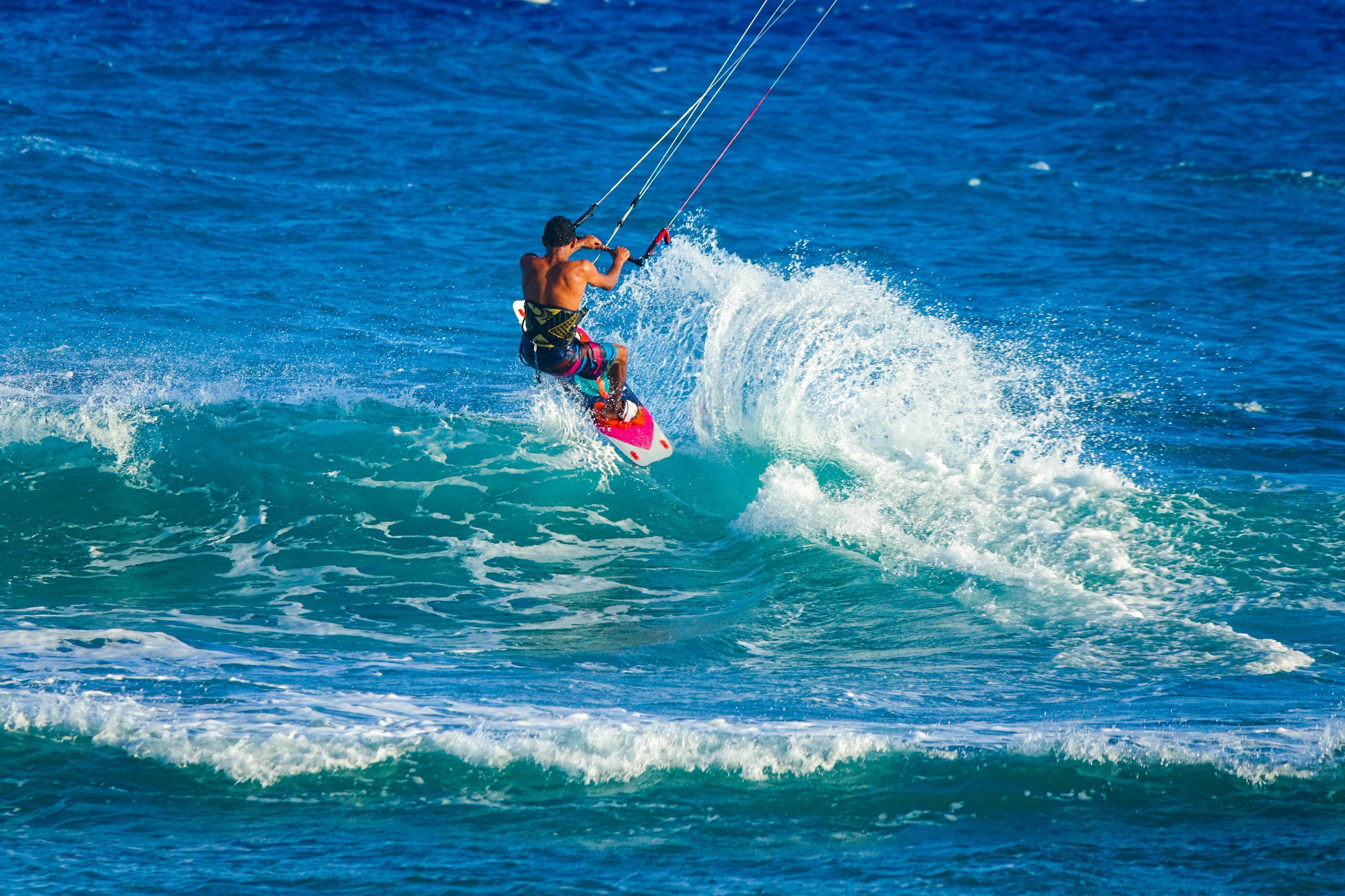 Water, Sea, Ocean, Summer, Waves, Surfer, Rope, Wet, Wave, Beach