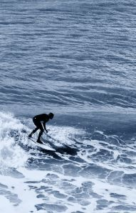 ocean, water, sea, surfer, man, sport, beach