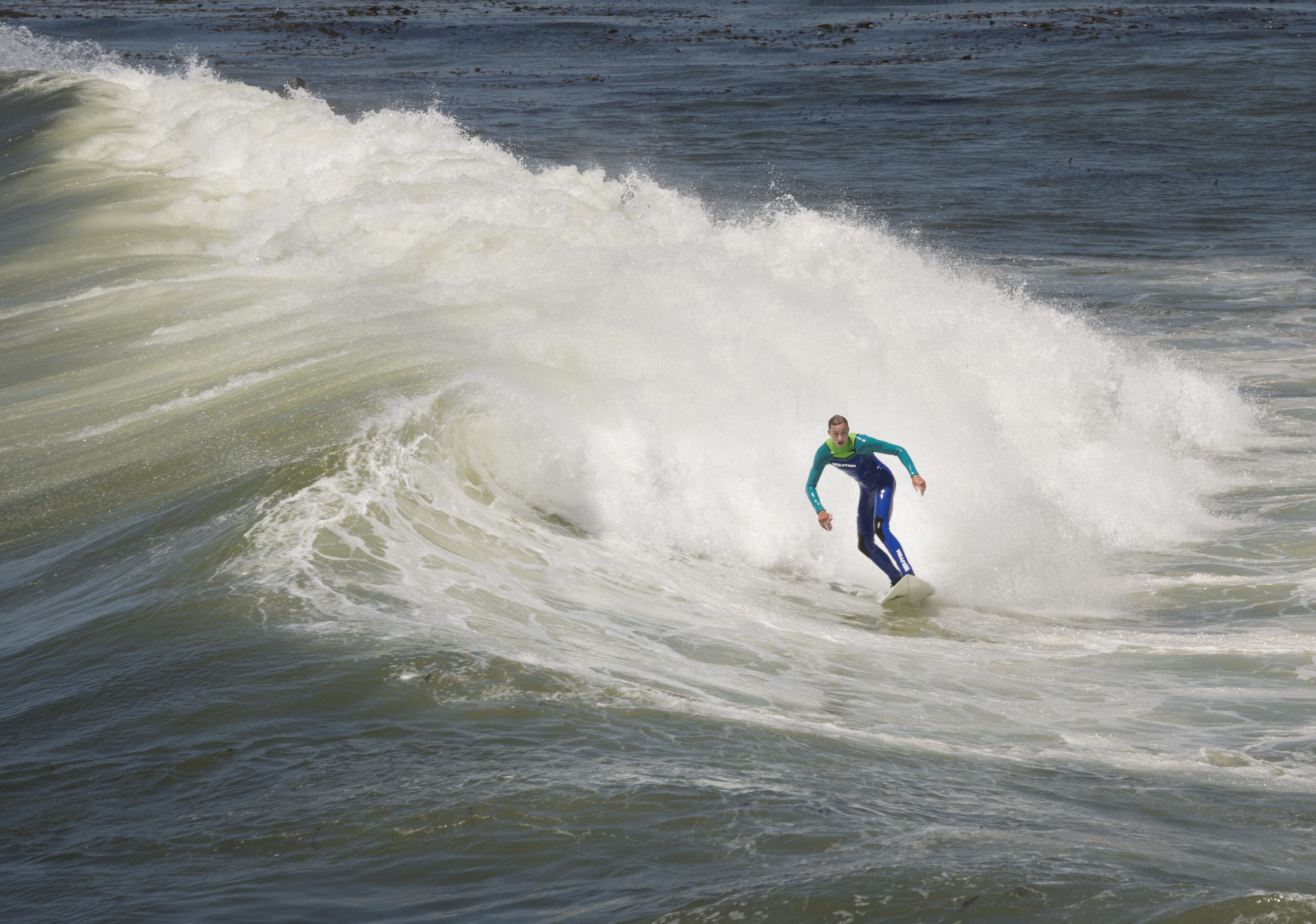 Water, Beach, Wave, Sea, Ocean, Athlete, Summer