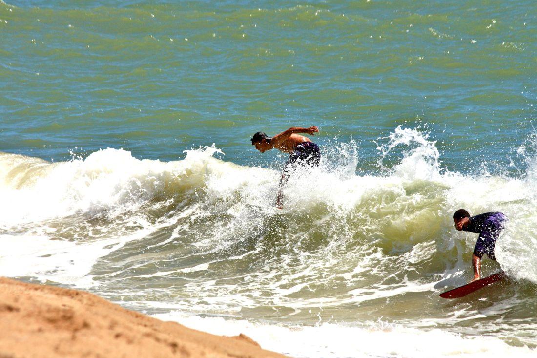 acqua, spiaggia, surfista, sport, spiaggia, estate, persone