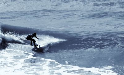 ocean, water, sea, wave, beach, silhouette, surfer, sport, extreme