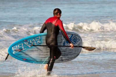 acqua, mare, spiaggia, oceano, paddle, Remo, estate, surfista, estremo, sport